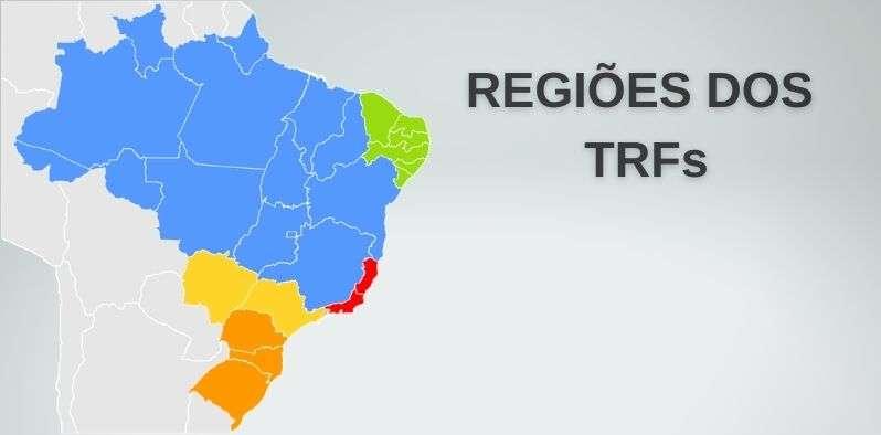 Regiões TRF: veja quais são e como julgam precatórios