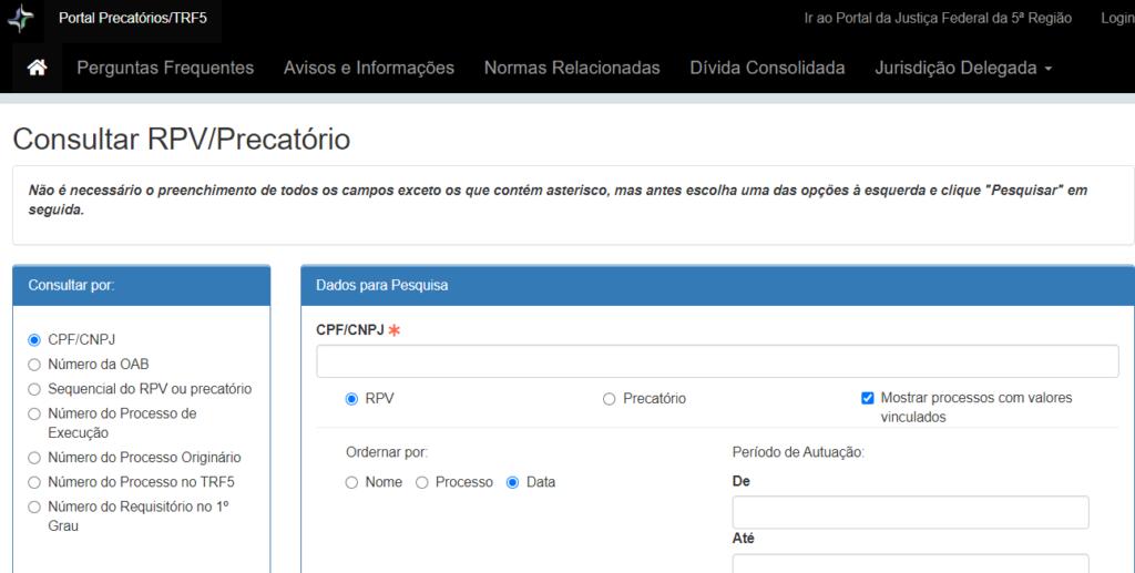jfpb consulta processual online