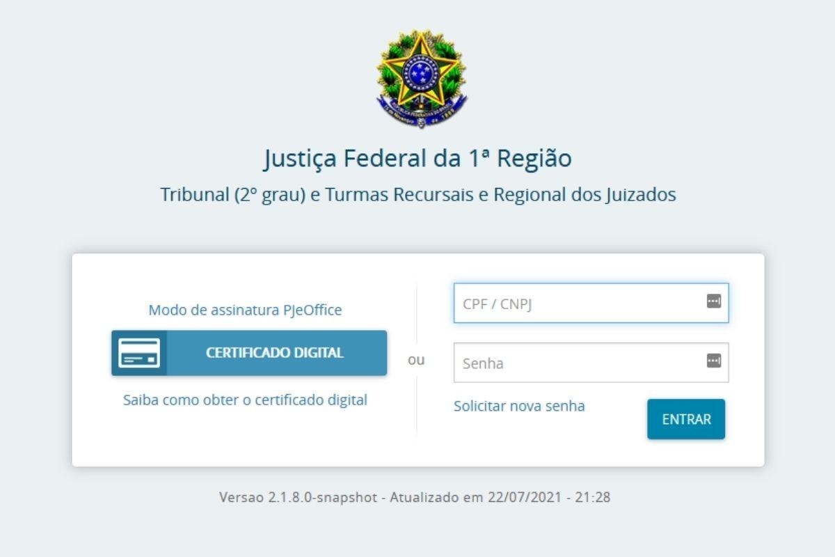 site justica federal trf1 consulta processos precatorios como fazer precato