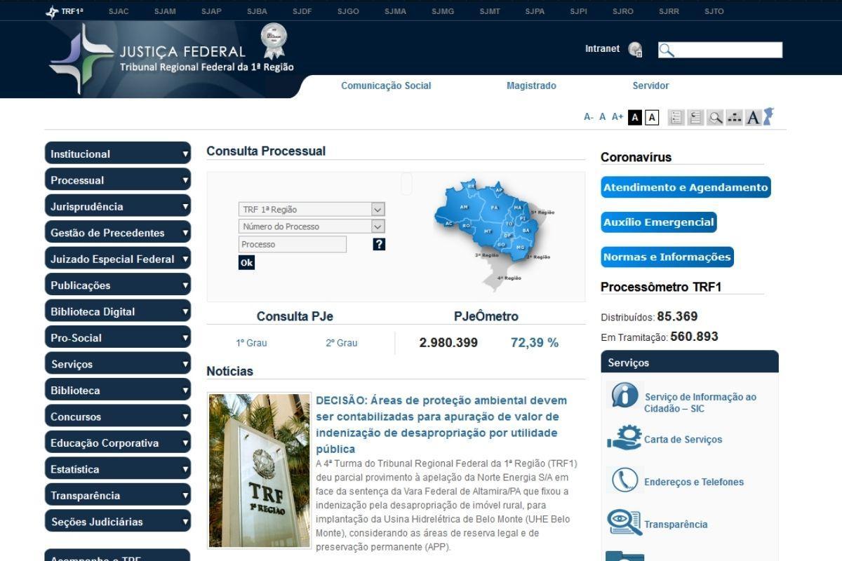 precatorios federais 2020 previsao pagamento trf1 pagina inicial consulta precato